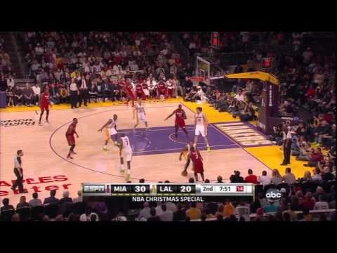 NBA 2k11: Los Angeles Lakers vs. Miami Heat - Lakers Get Out of Kitchen
