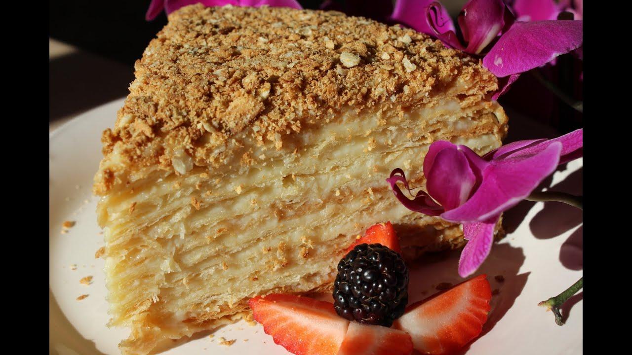 Класичний рецепт торта наполеон