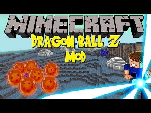 Minecraft Mod: Dragon Ball Z Mod (1.6.4)