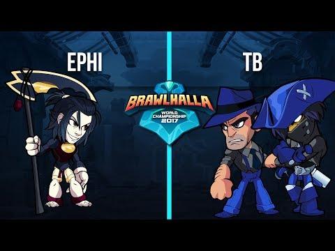 Ephi v TB - 1v1 Top 32 - Brawlhalla World Championship 2017