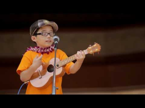 Aidan James - 8 year old covers Train, Hey Soul Sister!