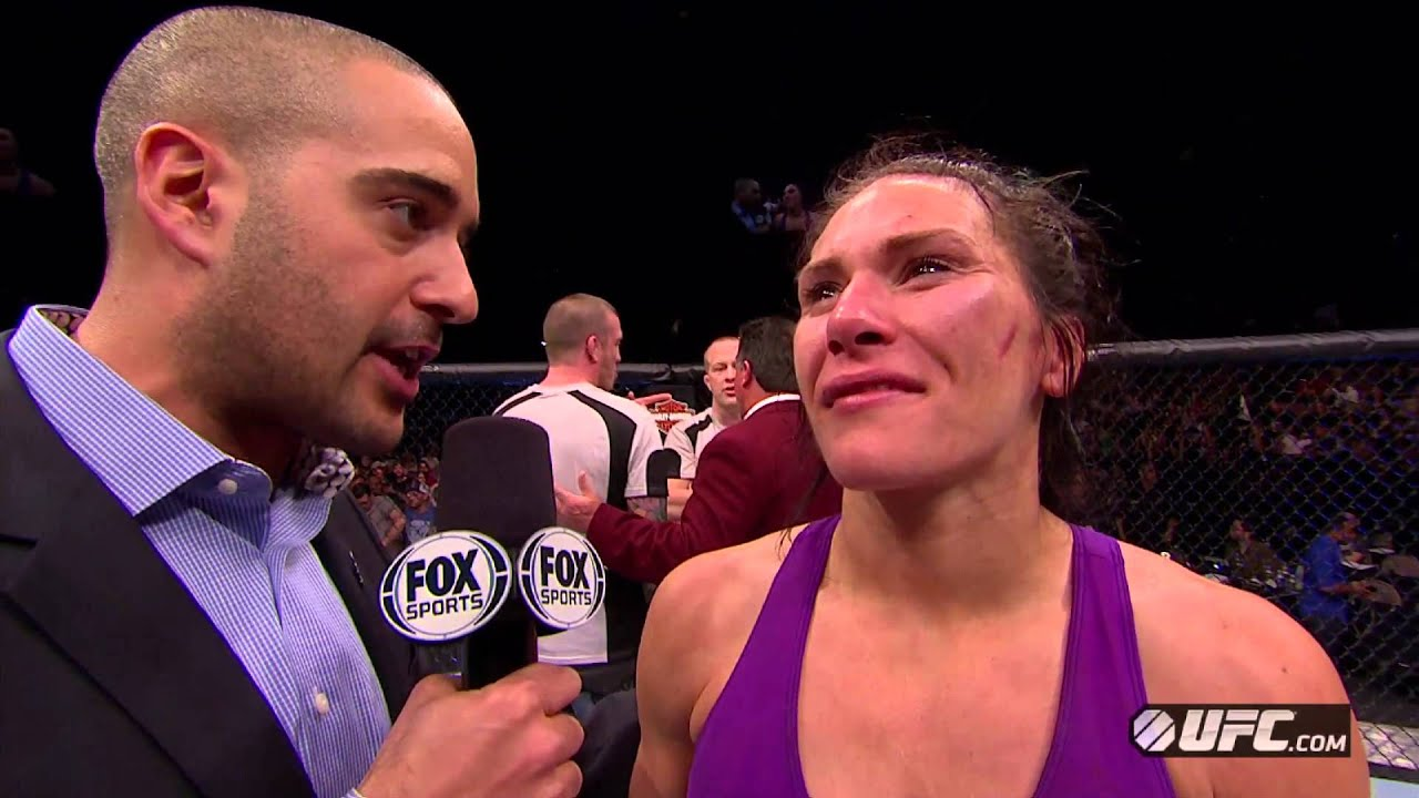tuf 17 finale  cat zingano post-fight interview