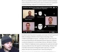 Freaky Face Technology Will Make Fake News Ubiquitous