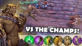 Playing Against World Champs! | Vainglory [Ranked] Phinn Support Gameplay
