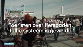 Buitenlanders over Nederlandse fietspaden - RTL NIEUWS