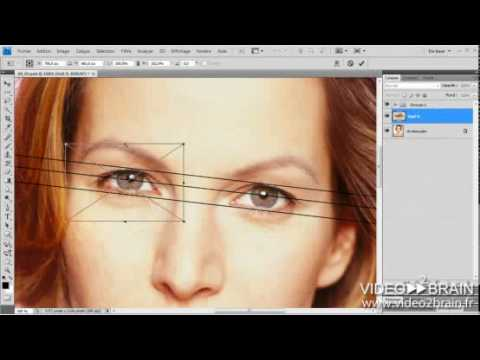Retouche du corps et du visage avec Photoshop - video2brain