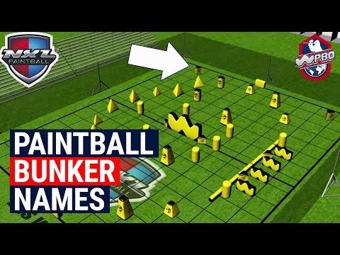 Paintball Bunker Names - Paintball QT