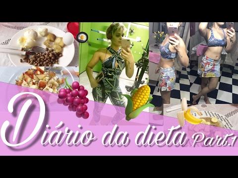 DIÁRIO DA DIETA PART.1 #VEDA4