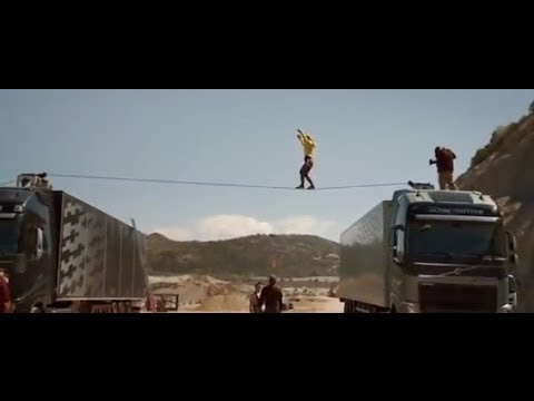 Amazing Volvo Trucks Ballerina Stunt Commercial Carjam TV Car TV Show 2013