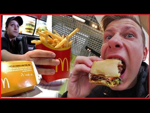 ВЛОГ ♦ Поел бесплатно в Макдональдс | Hey free for McDonalds