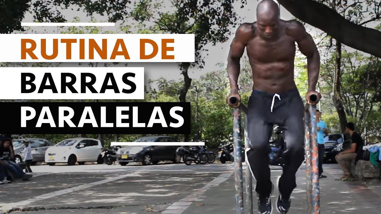 Rutina de barras paralelas youtube - Barras de ejercicio para casa ...