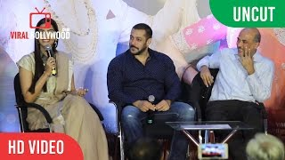 UNCUT - PRDP First Week Success Press Conference | Salman Khan | Sonam Kapoor | Sooraj B.
