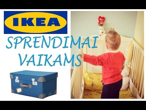 IKEA sprendimai vaikams