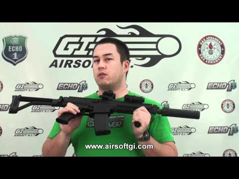 Airsoft GI -  Echo 1 Robinson Arms XCR AEG  Sample Preview