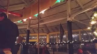 Holiday Carolsel at Rec Park Binghamton NY.
