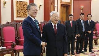 Thời sự (18h30 - 23/3/2018): Tổng thống Hàn Quốc và phu nhân thăm cấp Nhà nước tới Việt Nam