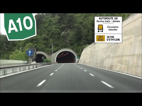IT FR / A10 Ventimiglia / A8 Menton - Monaco - La Turbie