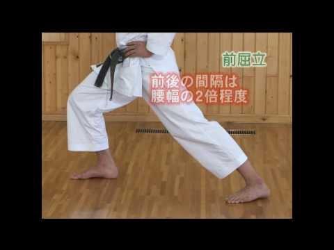 Zenkutsu Dachi video