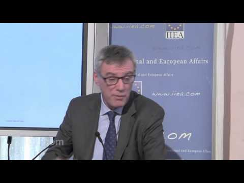 Andrei Marcu on EU 2030 Climate and Energy Framework Seminar