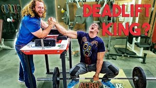 Can Devon Larratt Deadlift? Powerlifting vs Arm Wrestling