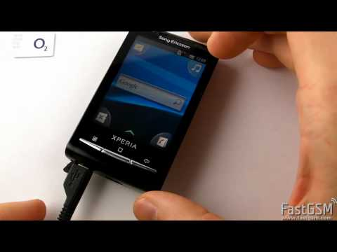 How To Unlock Sony Ericsson Xperia X10 mini (E10) by USB