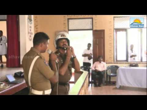 Global Road Safety Week: Road safety awareness seminar in Trincomalee