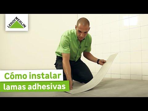 Cómo instalar lamas adhesivas paso a paso - LEROY MERLIN