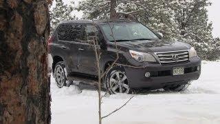 2013 Lexus GX 460 Snowy Colorado Off-Road 4WD Tech Demo Review