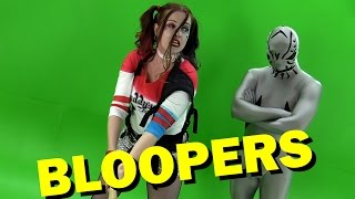 Suicide Squad Review Bloopers