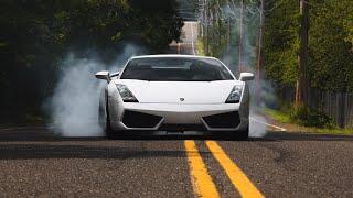 Lamborghini Gallardo Massive Burnout! | SchwaaFilms | CarLifestyle