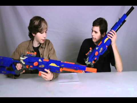 Longstrike CS-6 - Nerf Socom Reviews