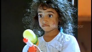 Cutest Introduction Scene Ever - Little Soldiers Movie Comedy Scenes   Baby Kavya   Baladitya
