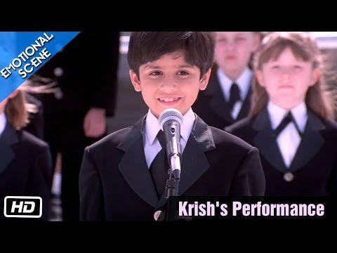Krish's Performance - Emotional Scene - Kabhi Khushi Kabhie Gham - Kajol, Shahrukh Khan video