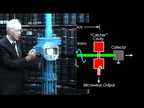 How a Klystron Tube Works