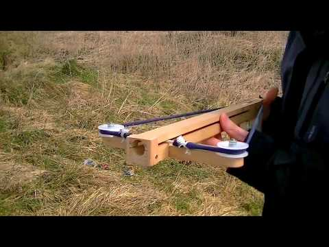 Ball shooting Slingshot Crossbow Pistol 2