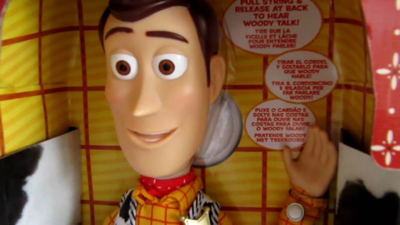 Toy Story 3 Talking Woody - YouTube