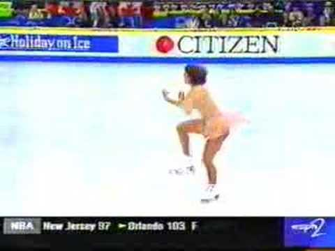 Sarah Hughes 2000 Worlds SP Video