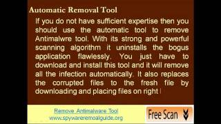 Guide To Remove Antimalware Tool From PC