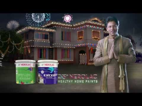 Nerolac Paints - New TV AD for Diwali 2015 with Shahrukh Khan
