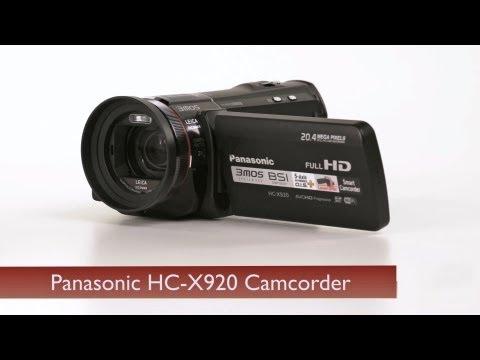 Panasonic HC-V750 Camcorder Test Footage (New)