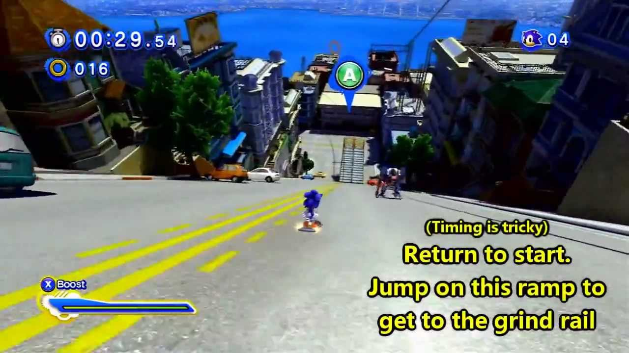 Sonic Generations City Escape Act  Red Ring