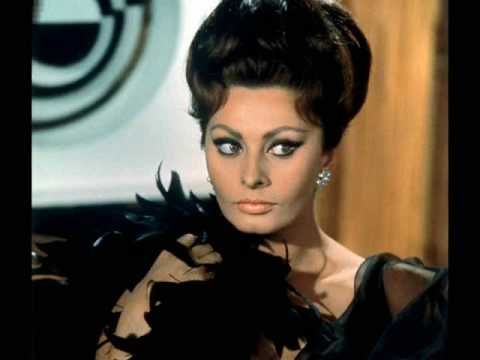 Sophia Loren - Images From The 1960's Music Videos