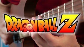 Dragonball Z Theme (Rock the Dragon) on Guitar