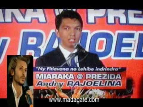 Andry Rajoelina. Bilal Tarabey, Rfi 21.02.2014