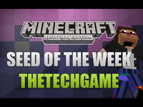 Minecraft Xbox 360 - TU10 Seed Of The Week Double Survival Island #9