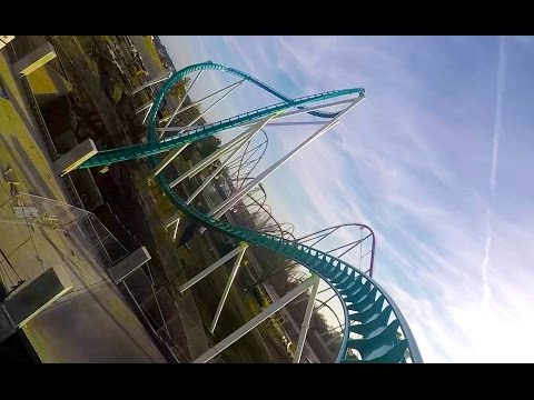 Fury 325 REAL POV - First Test Run Carowinds 2015 World's Tallest Giga Roller Coaster