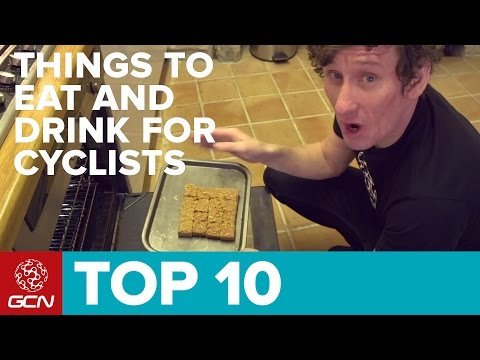 Top Ten Things To Eat And Drink For Cyclists