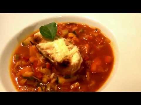 Italienische Gemüsesuppe Rezept Vegetarisch - Der Bio Koch #304
