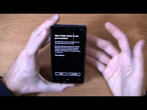 Nokia Lumia 820 Unboxing