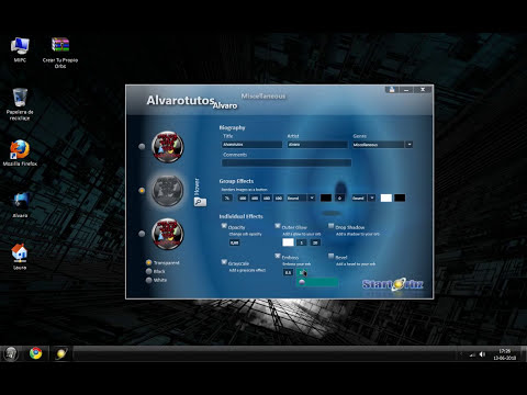 Como Crear Tu Propio Orbs - Windows 7 (HD)
